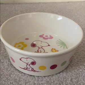 Peanuts Snoopy Pet Bowl